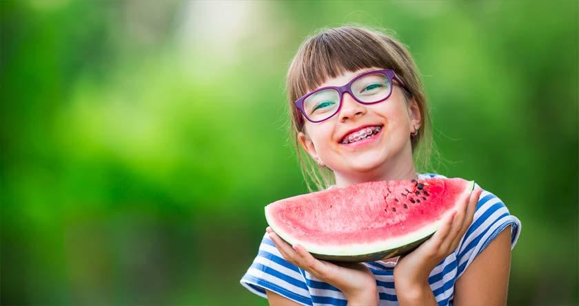 Tandställning barn